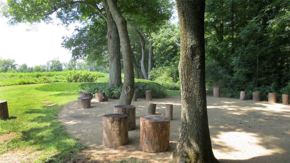 Outdoor Yoga Circle