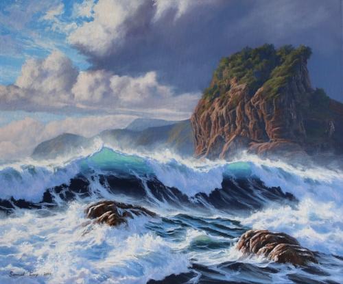 Piha - Samuel Earp seascape artist