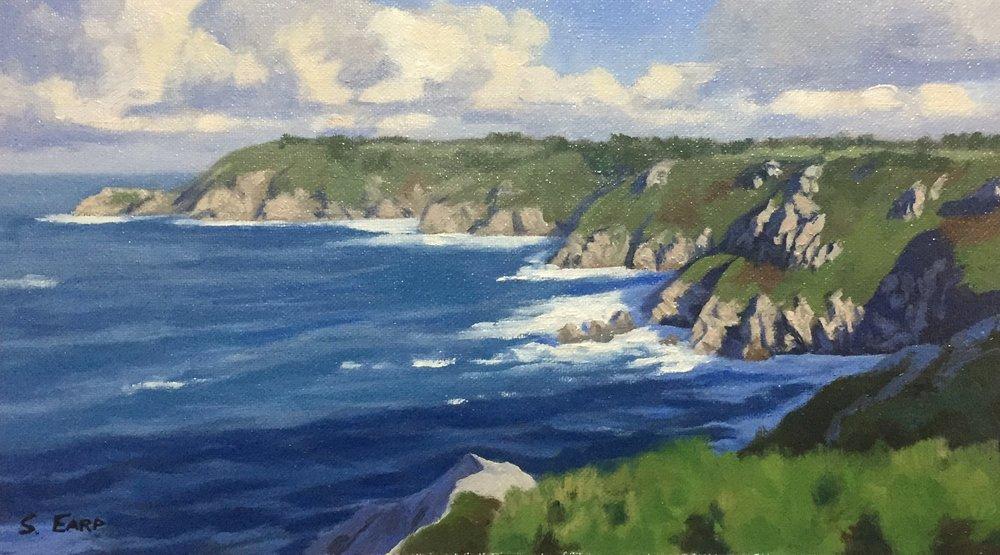 Icart Point Guernsey - Samuel Earp - landscape artist.jpg