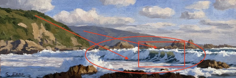 Houghton Bay - oil painting - Samuel Earp - Composition 3.JPG