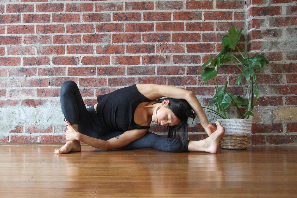 Malasana creates a foundation for many ways to experience active, deep hip opening.