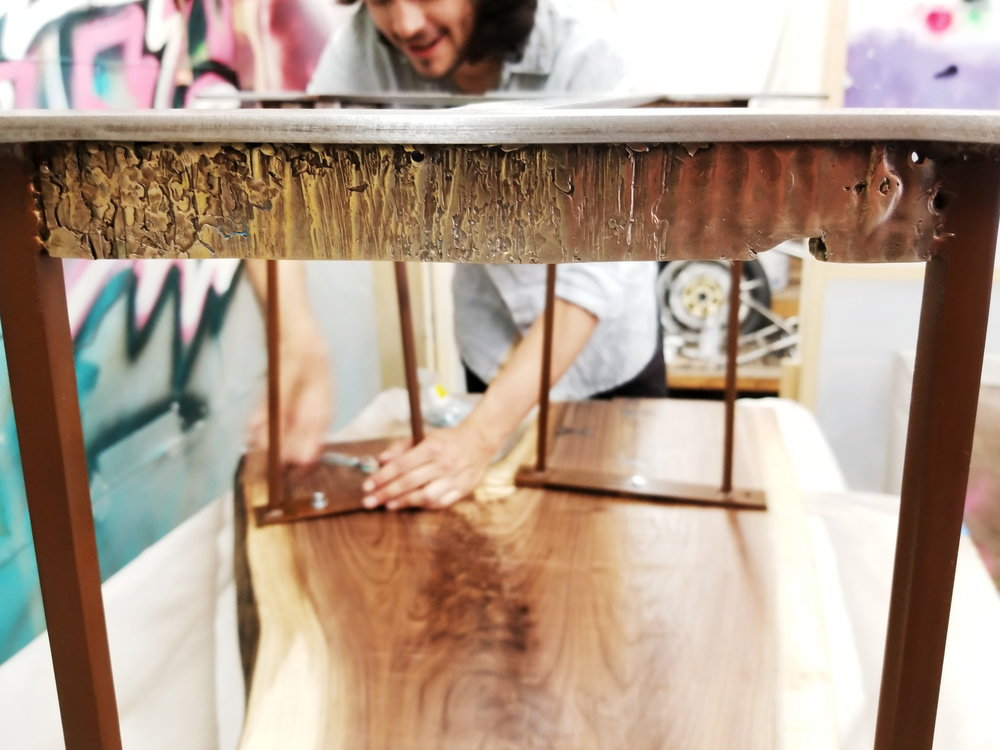 Handmade custom furniture that is truly functional art.