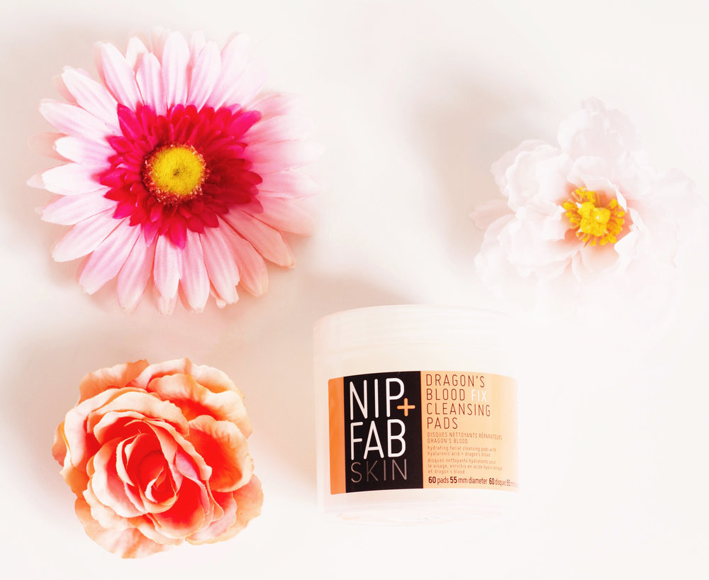 Nip + Fab Dragon's Blood Fix Cleansing Pads (Bought on Sale for 16$). On their site they offer it for £9.95.