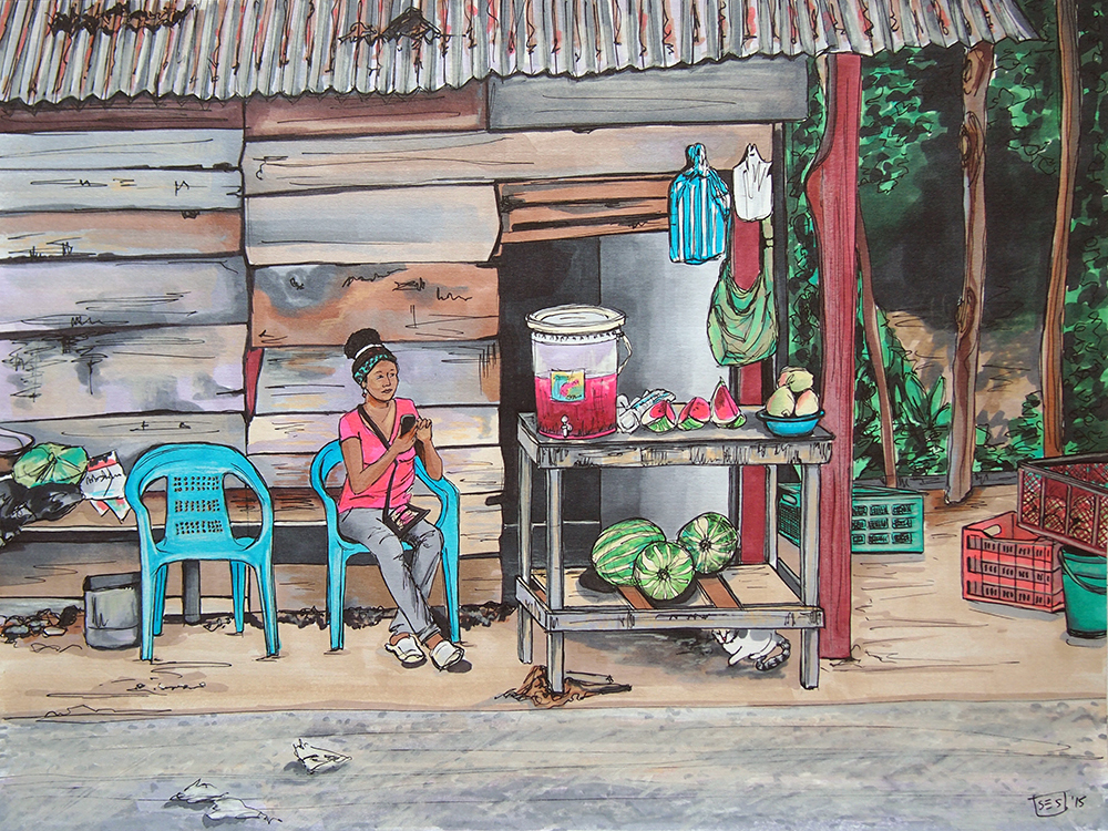 The Watermelon Vendor, 2015