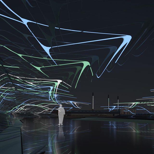 Graphene Dreams #conceptual #architecture #LAGI #landart #parametric #3d #visualization #3ddesign #conceptualdesign #renderings