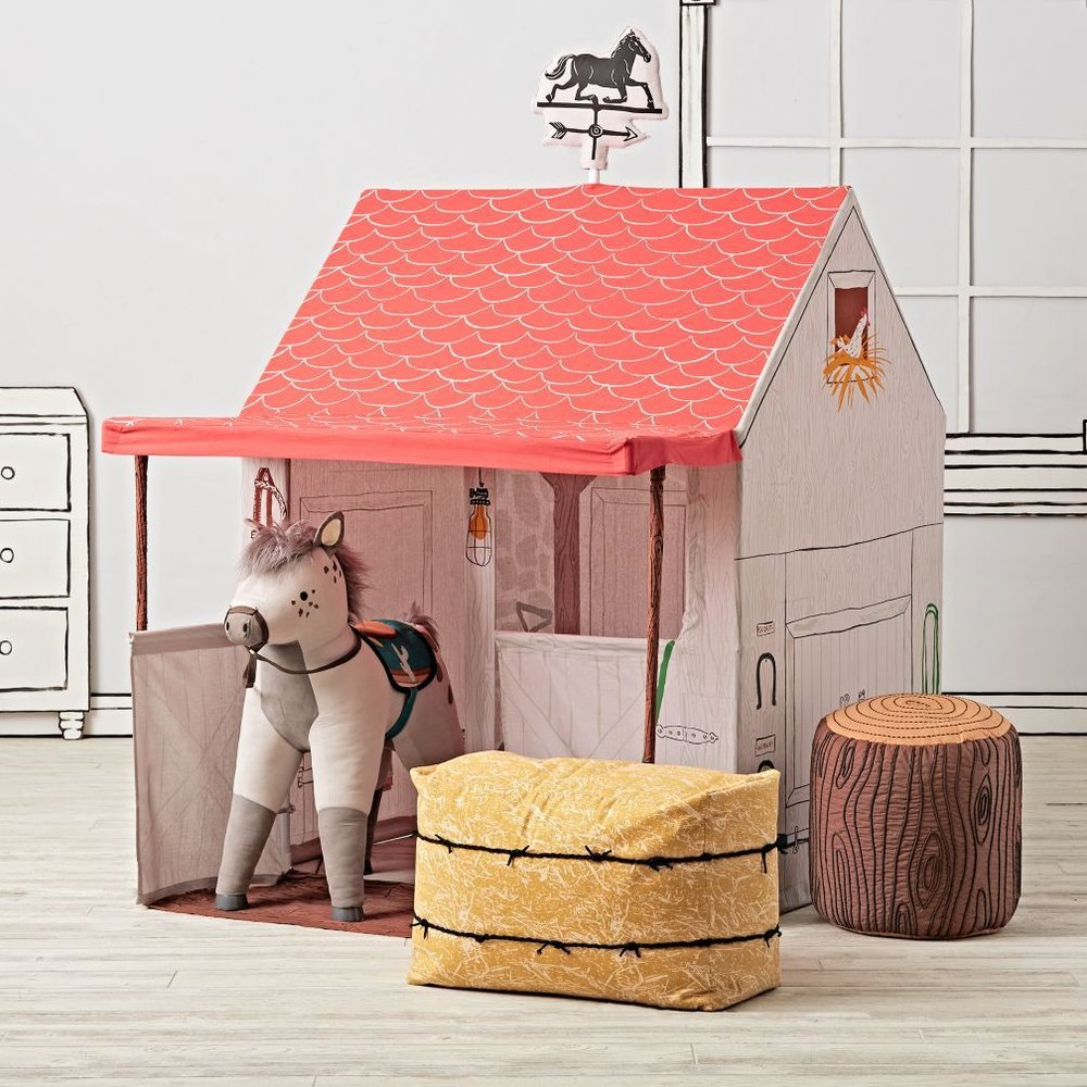 Land of Nod Horse Stable Playhouse