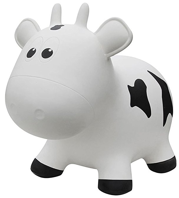Farm Hoppers Inflatable Bouncing Cow