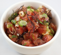 Ahi Shoyu*** scallion, sweet onion, inamona, ogo, ginger, chili, sesame oil, shoyu