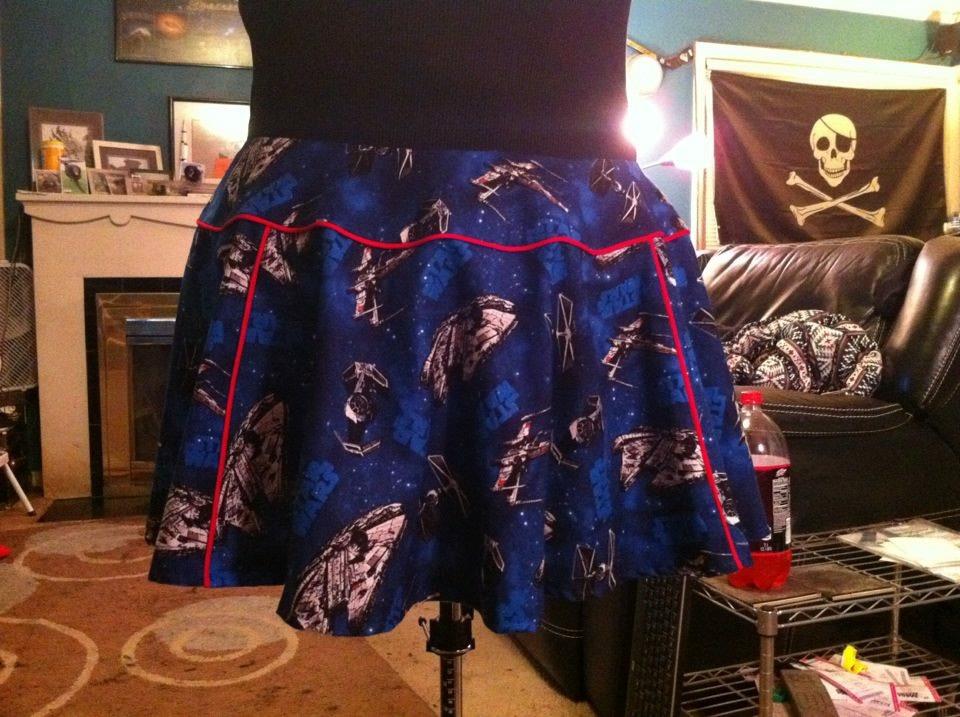 Star Wars skirt