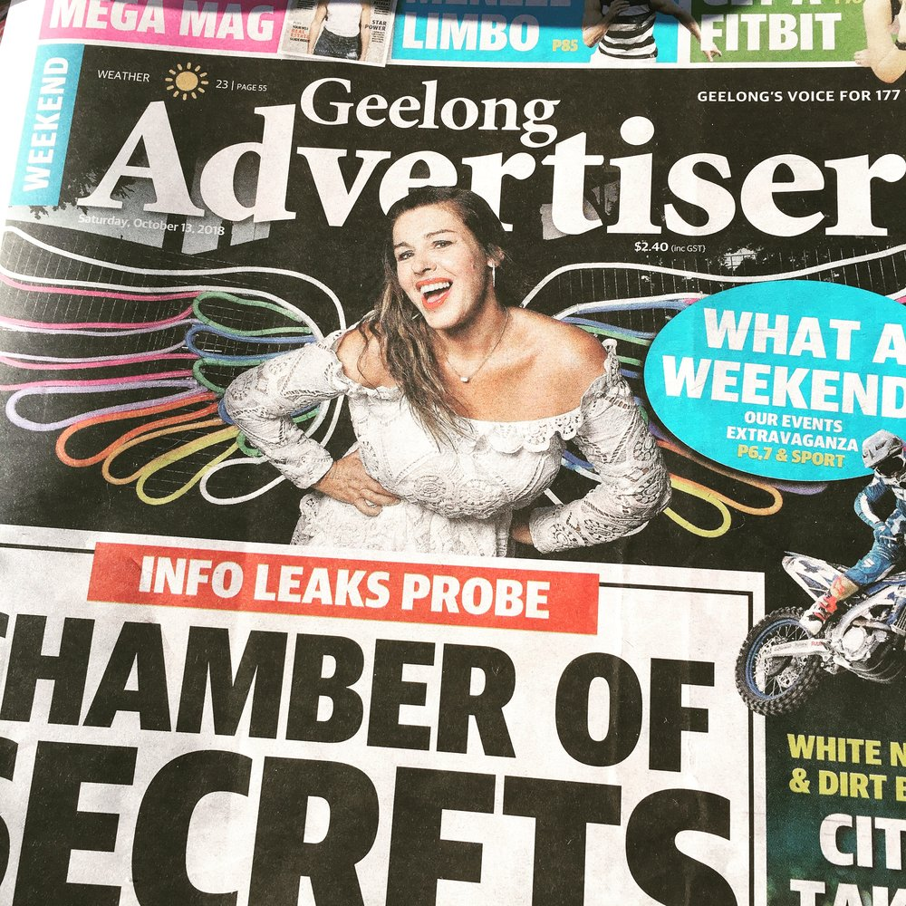White Night Geelong Advertiser.JPG