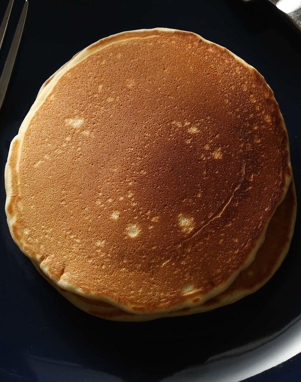 3. Hãy để ý bề mặt texture của pancake!