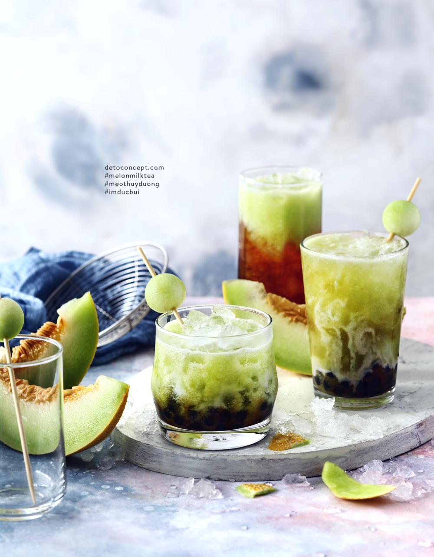 Melon Milk Tea