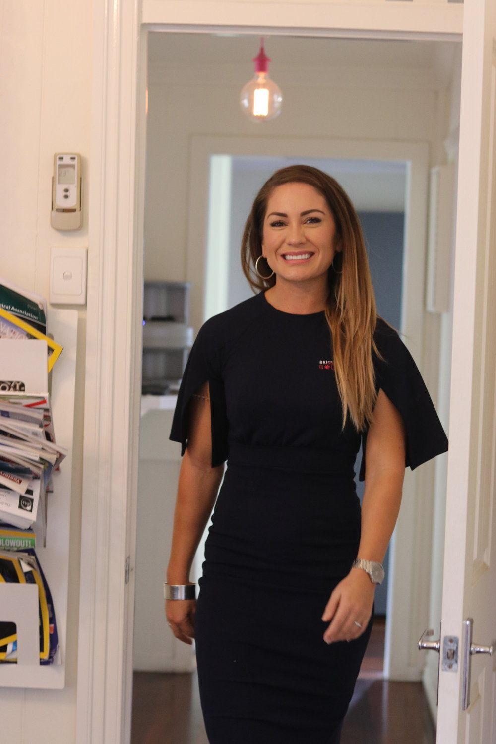 Holly at our dental studio in East Brisbane