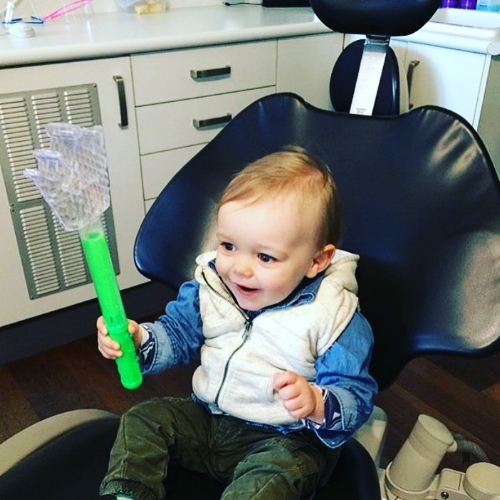 toddler's dentist