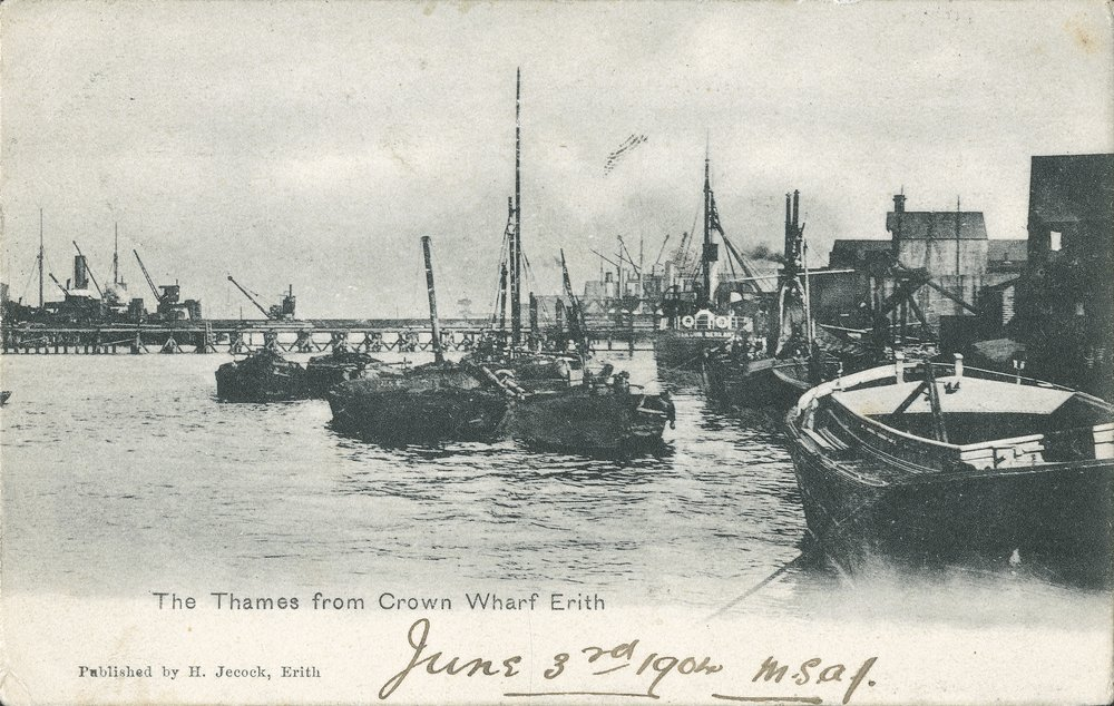 The Thames from Crown Wharf, Erith (1904)