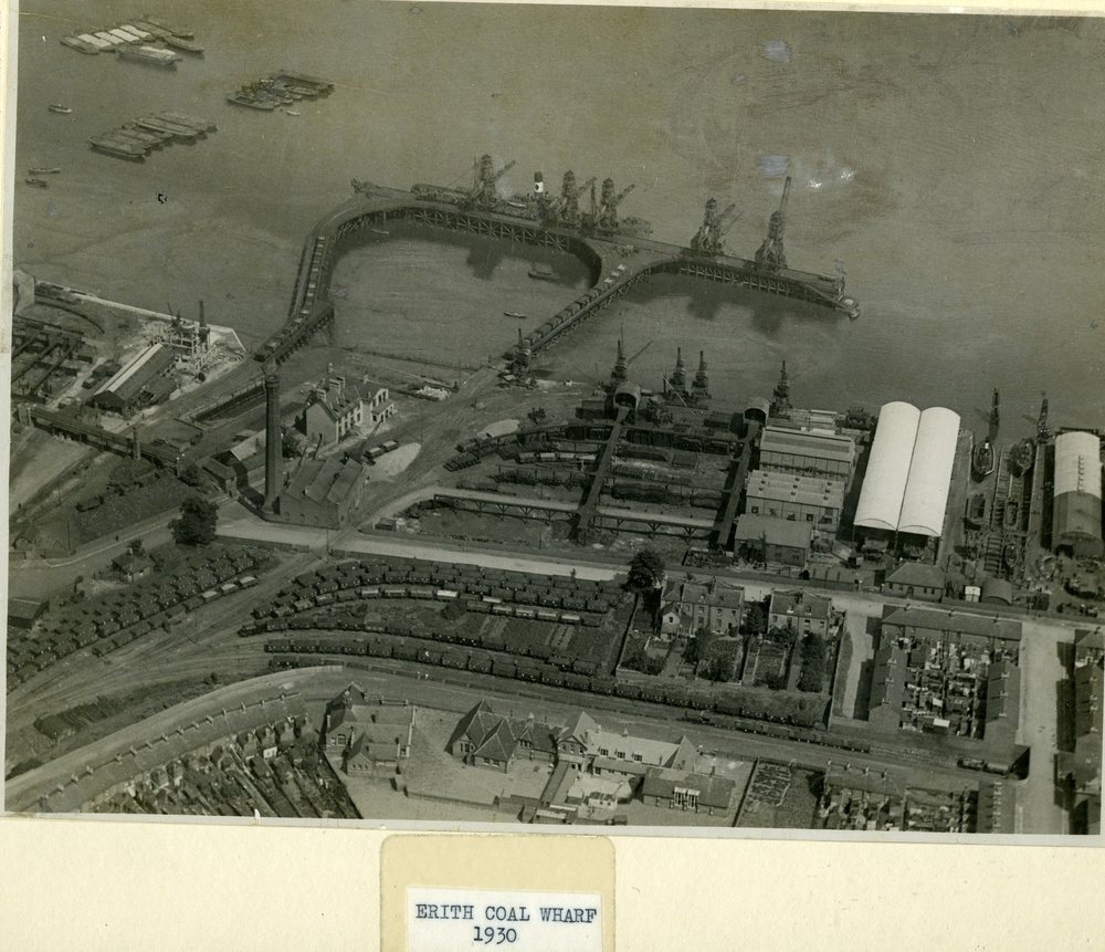 Erith Coal Wharf (c. 1930)
