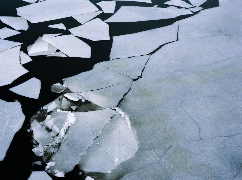 Broken ice, 2016