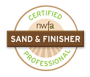 We are a NWFA Certified Sand and Finisher. This means you can trust our expertise and knowledge!