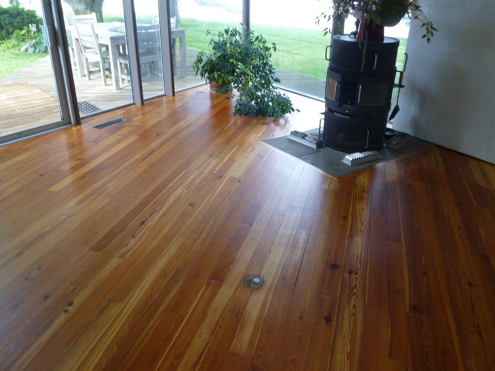 Hardwood floor refinishing in Cornelius, NC
