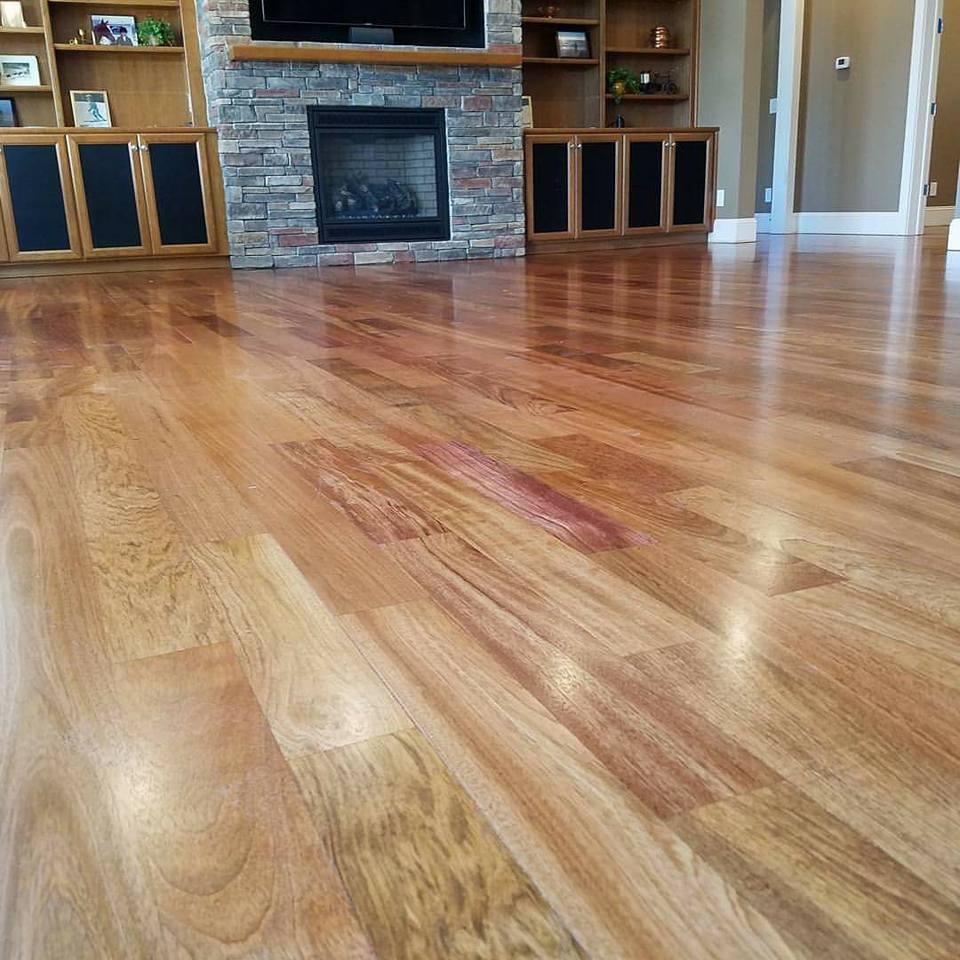 Hardwood floor installation in Concord, NC