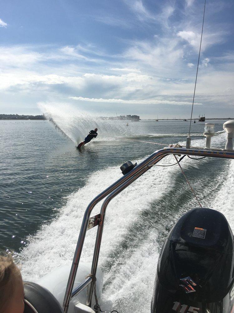 Waterskiing -