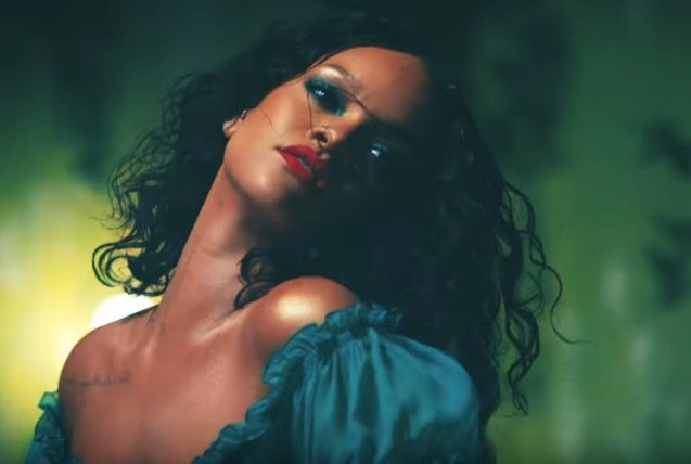 "Rihanna in ""Wild Thoughts."" Photo: Courtesy of YouTube/DJKhaledVEVO"