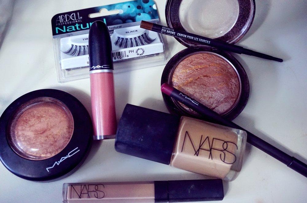 Mac Cosmetics, Nars, Ardell #118