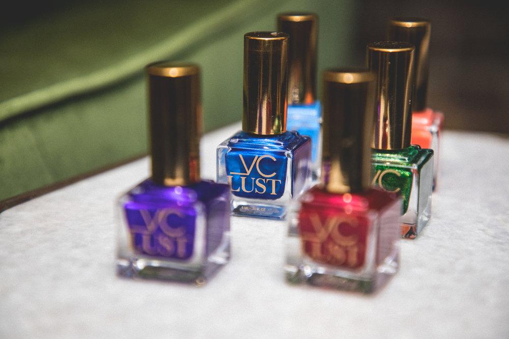 Each polish retails $18.00 at LustVCosmetics.com