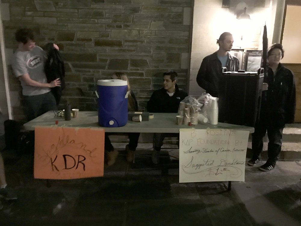 Brothers & Sweethearts hosting a B+ Hot Chocolate Fundraiser