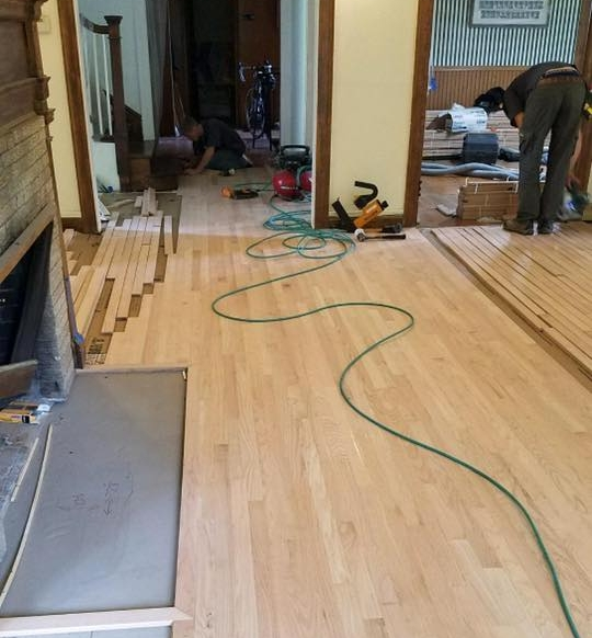 Floor Renovation