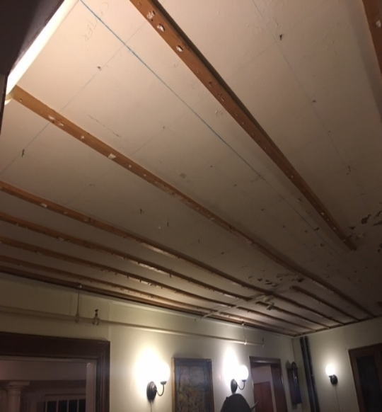 Living Room Ceiling Renovation