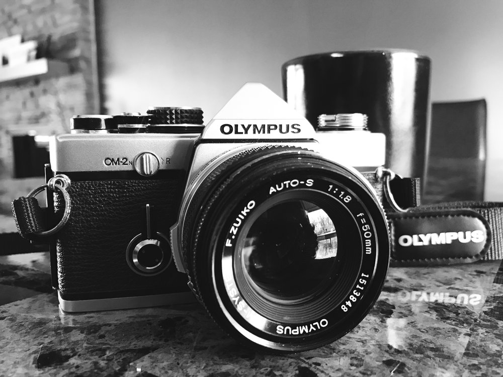 my olympus OM2n purchased from keh.com