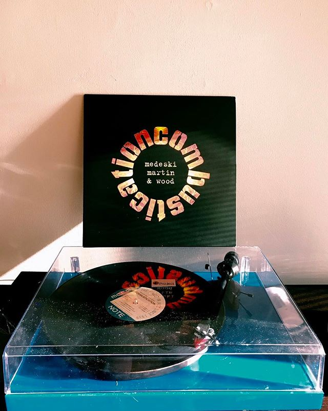 Medeski Martin & Wood - Combustication | #bluenote #combustication #mmw #medeskimartinandwood #johnmedeski #hammondb3 #vinyl #vinylcollection #vinylcommunity #vinylcollector #vinyladdict #vinyljunkie #igvinylclub #turntable #turntables #records #vinylrecords #recordcollection #recordcollecting #vinyloftheday #recordcollector #vinylrecords #music #snwfvinylclub #jazz #jazzfusion