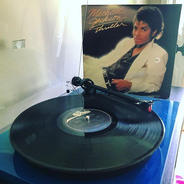 Michael Jackson - Thriller | Against odds, I just picked up my first MJ record. | #michaeljackson #michaeljacksonthriller #thriller #wannabestartinsomethin #vinyl #vinylcollection #vinylcommunity #vinylcollector #vinyladdict #vinyljunkie #igvinylclub #turntable #turntables #records #vinylrecords #recordcollection #recordcollecting #vinyloftheday #recordcollector #vinylrecords #music #snwfvinylclub