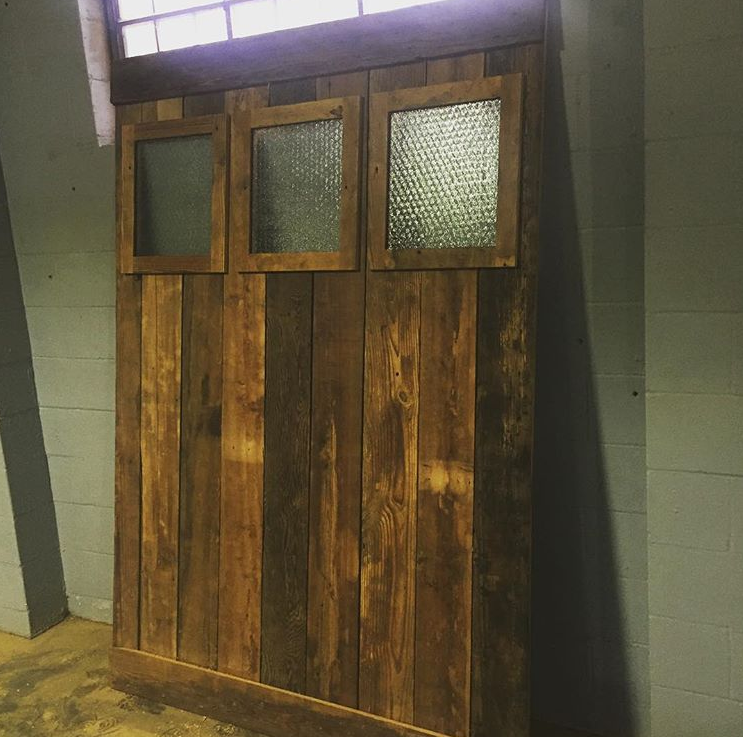 1 of 2 Windowed Door & Sliding Doors u2014 Black Market 1125 jackson old market OMAha NE 68102