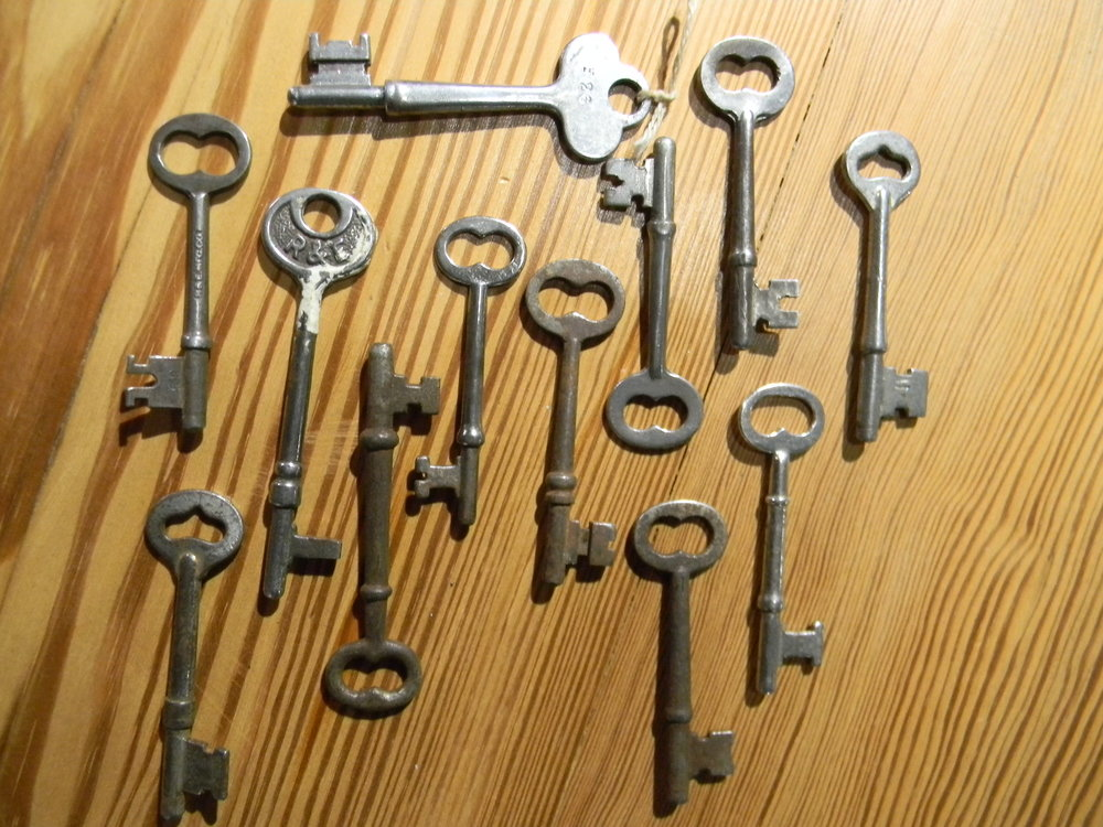 Vintage Skeleton Key, Door Hardware