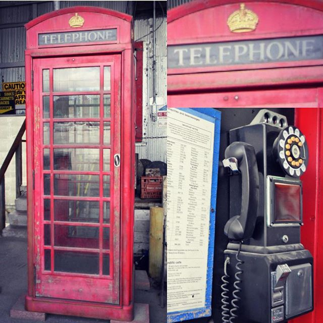 Superman changing booth or 'Glass case of emotion'...? You decide. . . . . #blackmarketomaha #vintage #phonebooth #superman #anchorman #redphonebooth #salavaged #omahalocal #antique #omaha #salvage #nebraska #callme