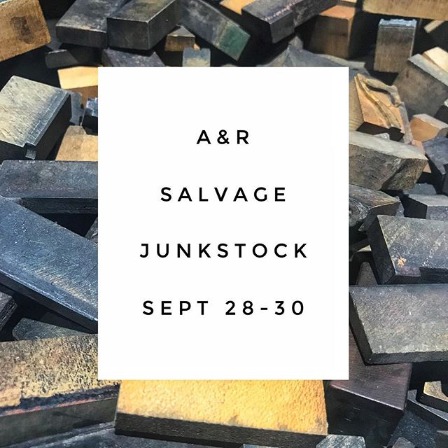 Come see us, right by the Gypsy Wagon. . . . . #gonejunkin #junkstock #salvagecrew402 #omaha