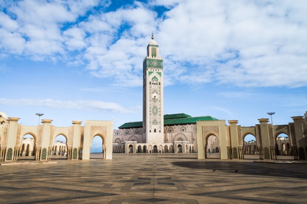 A much, much better photo of the Mosque from theculturetrip.com