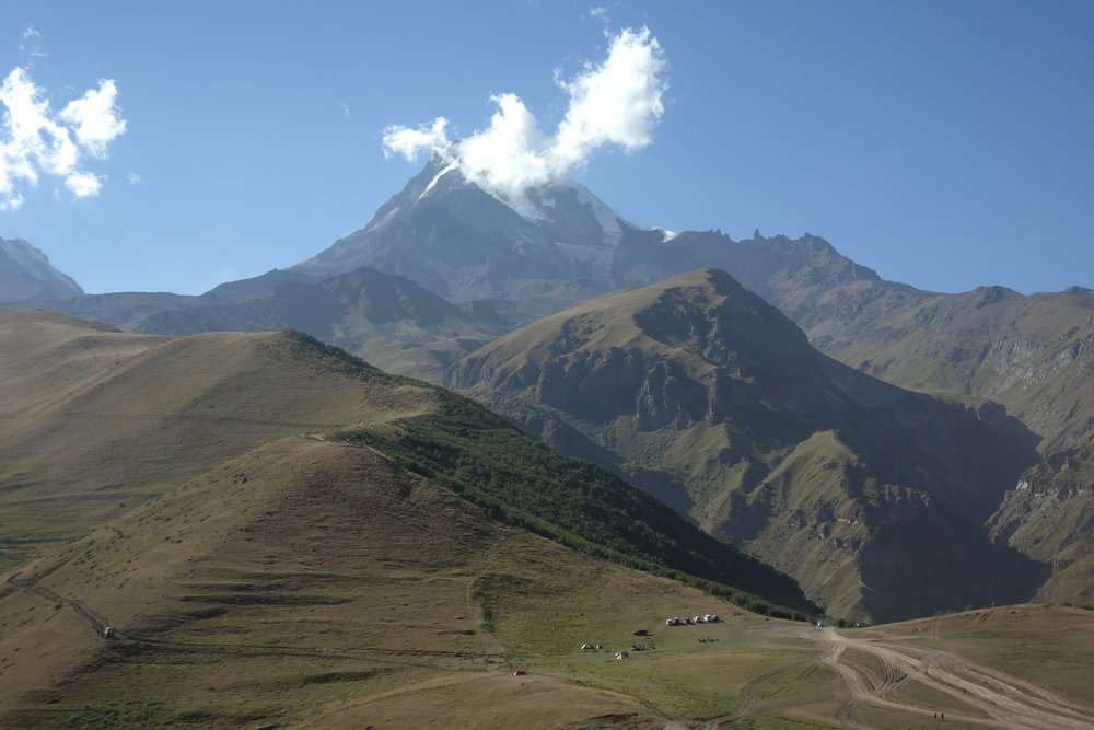 Mt. Kazbek, Georgia