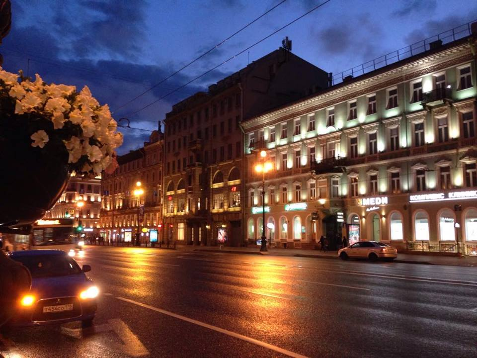 Midnight, St. Petersburg, Russia