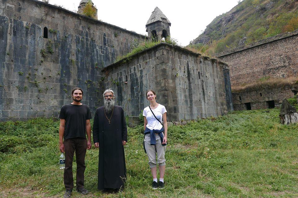Left to right: Me, Yakov, Teresa