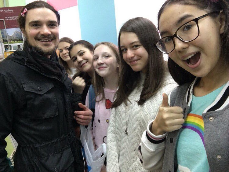 TEACHING ENGLISH IN MOSCOW