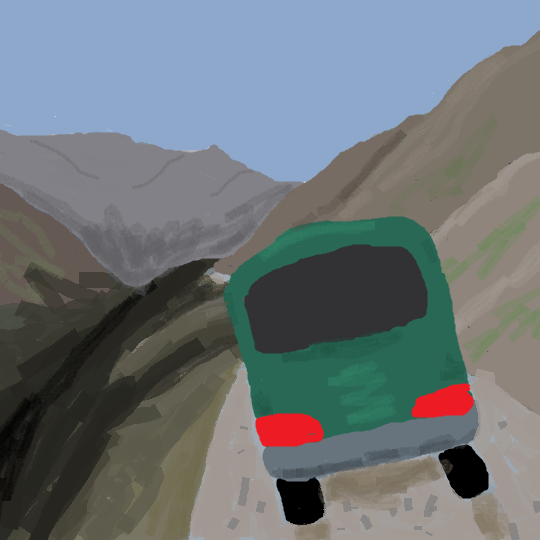 Cheating Death on the Road to Tusheti