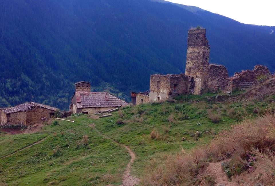 SVANETI: TOWNS AND VILLAGES