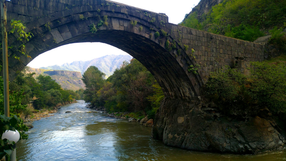 Archway near the city Alaverdi