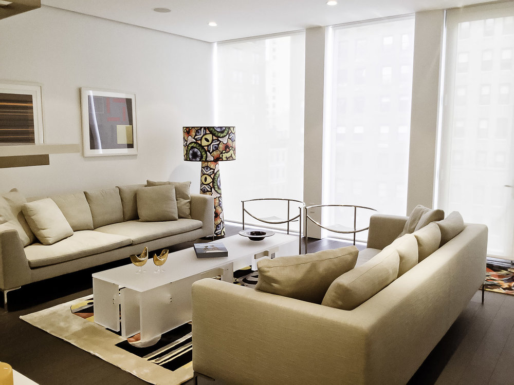 Elegant High End Living Rooms And Common Spaces In Manhattan