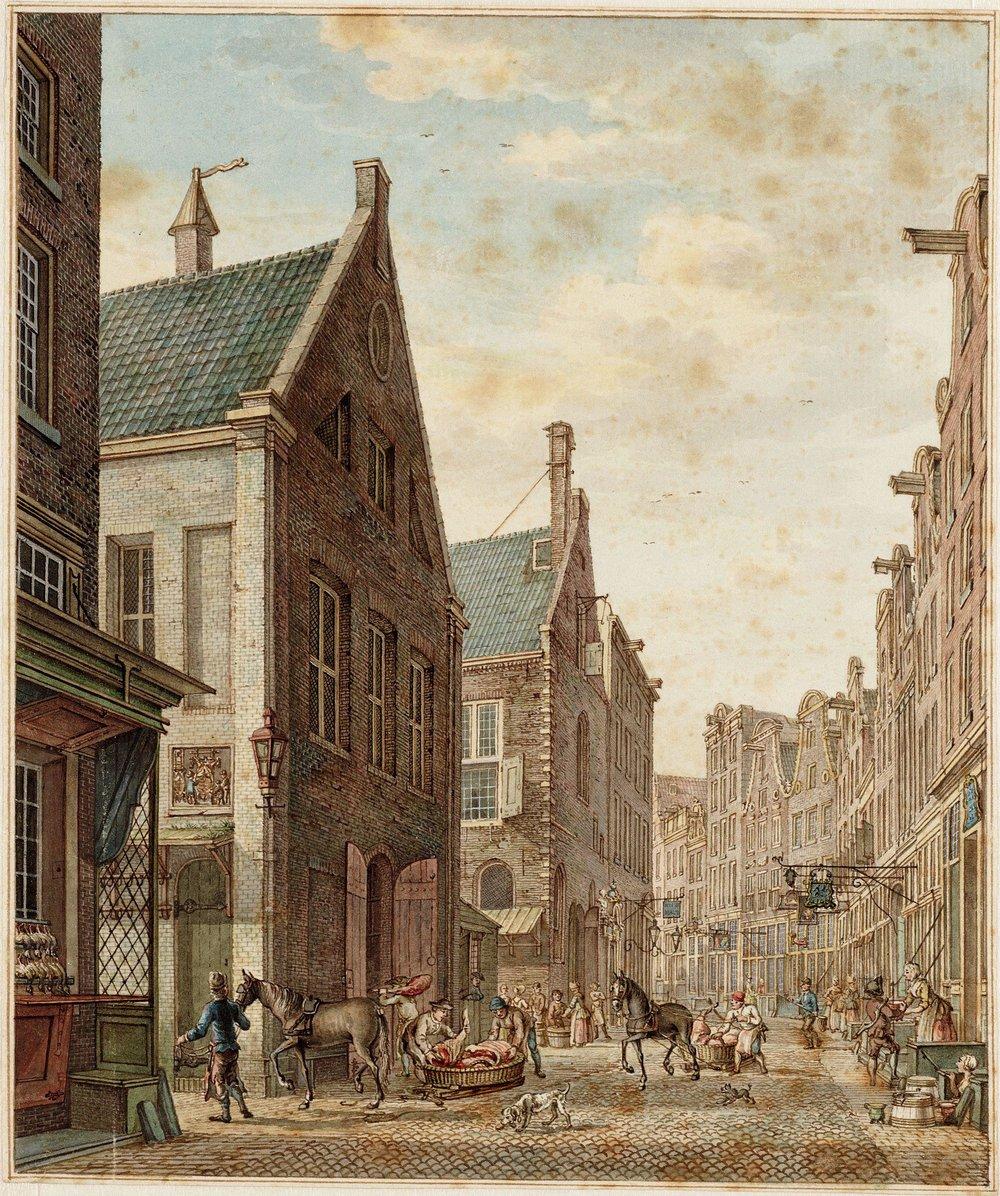 Nes in 1741 Hermanus_Petrus_Schouten_005.jpg