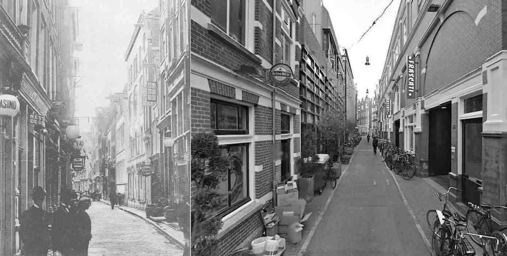 MM historic Nes Amsterdam-Nes-Street-Now-And-Then-1910-2014.jpg