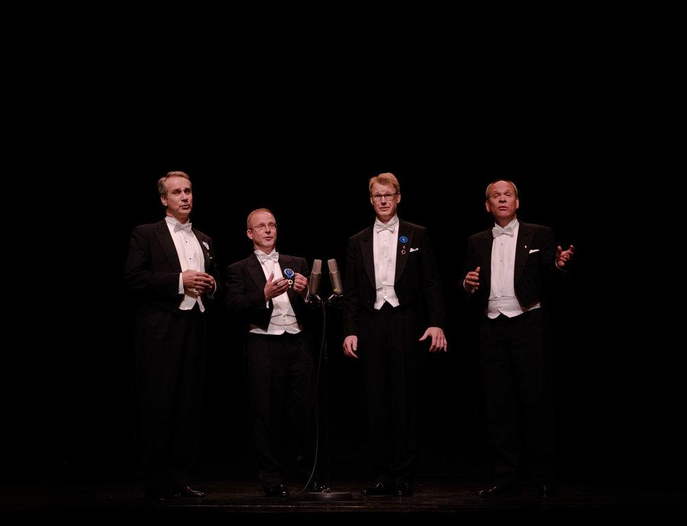 Bongaa Psaldo Kvartetti ja voita konserttilippuja ja juhlavuoden kirja!